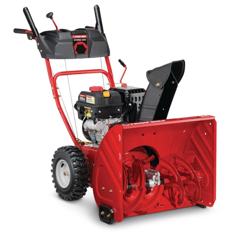 Troy-Bilt STORM 2410 2-Stage Electric Start Snow Blower – REVIEW