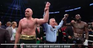 Deontay Wilder vs Tyson Fury – Draw???