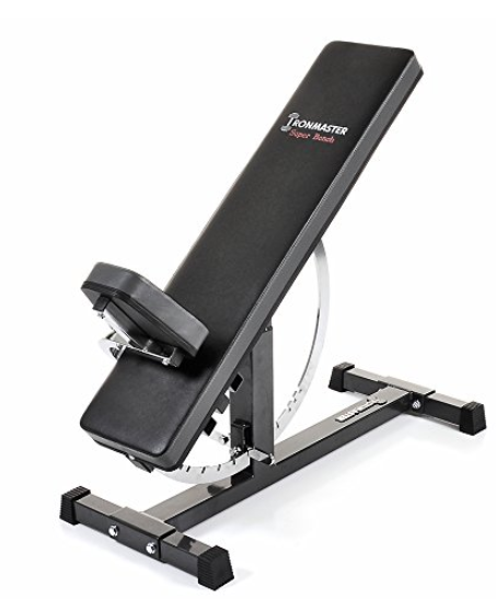 Ironmaster Super Bench Adjustable Weightlifting Bench REVIEW