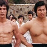 Bruce Lee and Bolo Yeung.