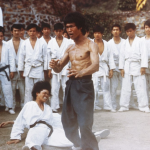 The fight in Enter the Dragon.
