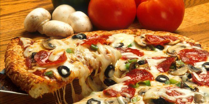Best way to reheat pizzas.
