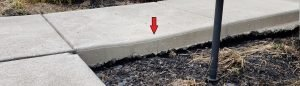 Repair a Sinking Concrete Walkway