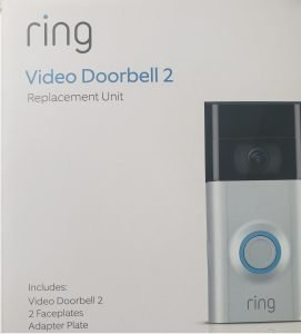 The RING doorbell replacement.