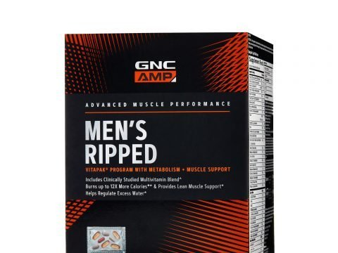 Review of the GNC AMP Mens Ripped Vitapak.