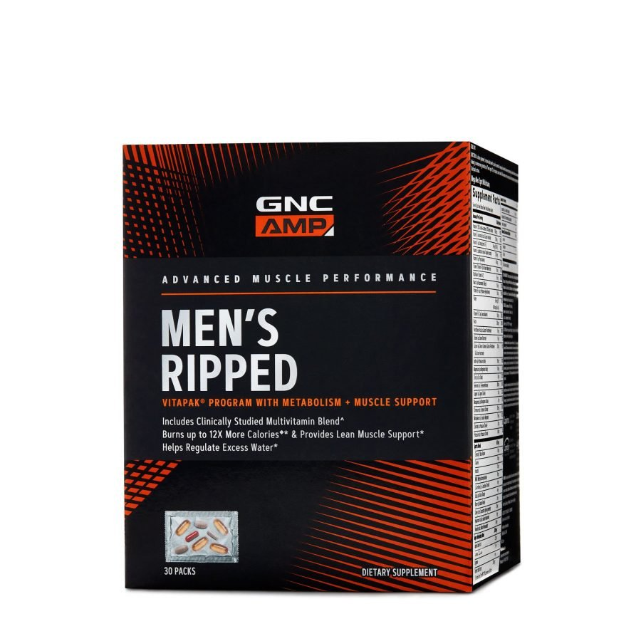 GNC AMP Men's Ripped Vitapak® Review