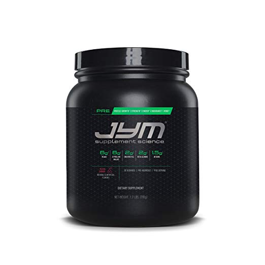 JYM Pre-Workout Review