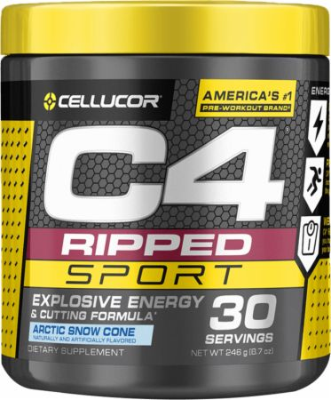 Cellucor C4 Ripped Sport PreWorkout REVIEW