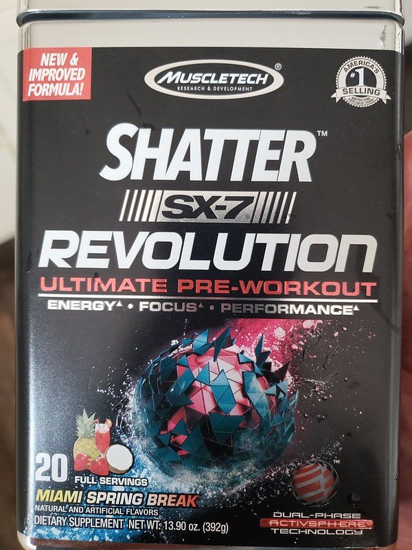 Shatter SX7 Revolution MuscleTech Review