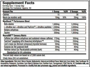 Shatter SX7 Revolution MuscleTech review.