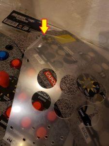 Arcade1up remove plastic film