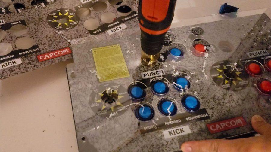 Arcade1up drill plexiglass.