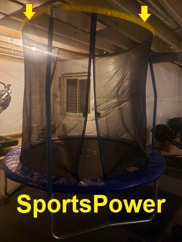 SportsPower Trampoline tip enclosures.