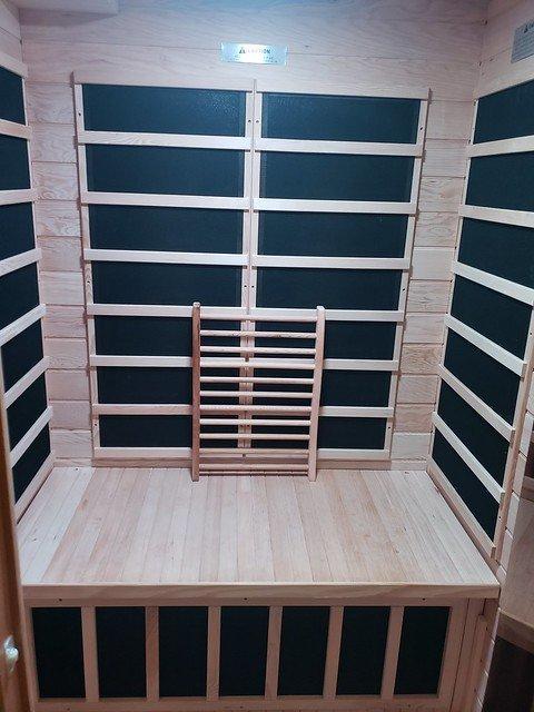 Dynamic Luxury Infrared Sauna heater.