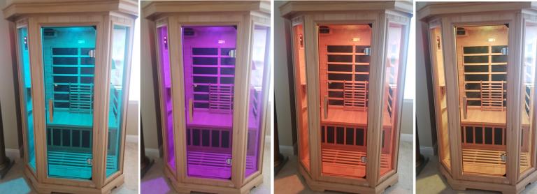 Dynamic Sauna Chromotherapy