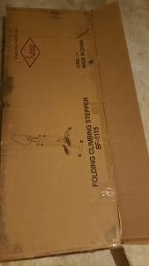 Sunny health fitness SF-1115 box.