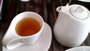 Tea is healthy for you.