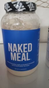 Healthy Protein Naked meal replacement.