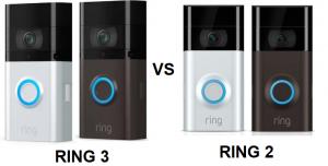 RING Video Door Bell 3 vs Doorbell 2 – Comparison