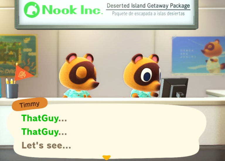Nook brothers on Animal Crossing.
