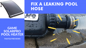 How to Fix a Leaking Swimming Pool Hose