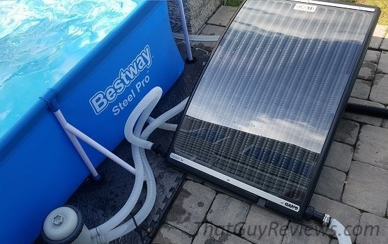 Solar pro curve pool heater fully setup.