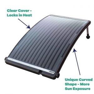 Solar Pro Curve Pool heater details.
