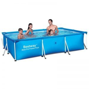 Bestway Rectangular Steel Pro Swimming Pool – Review