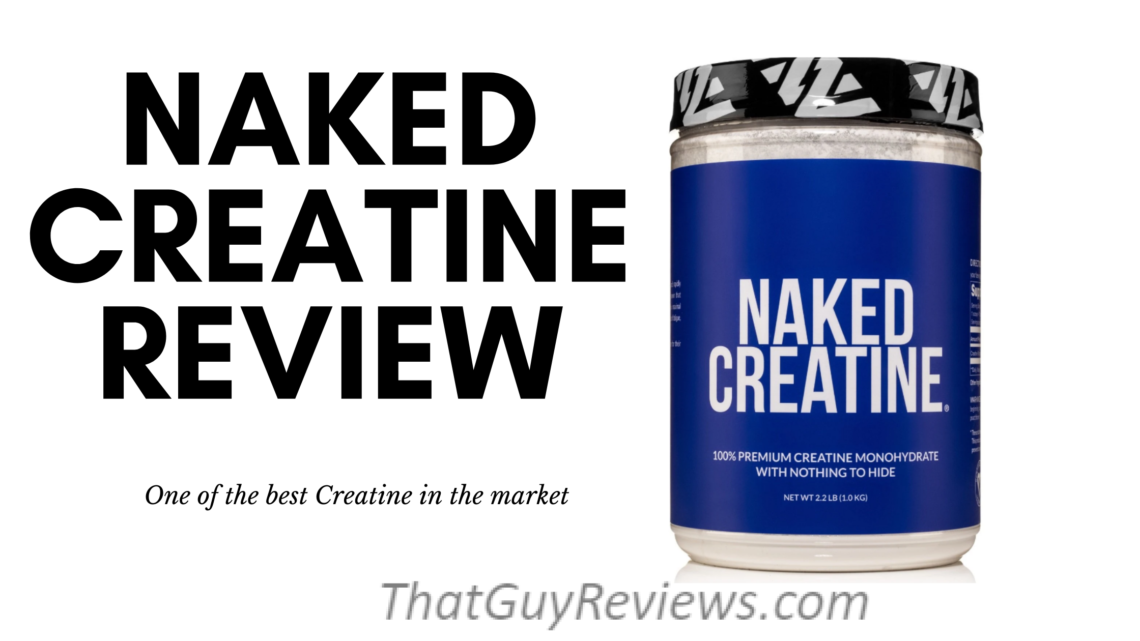 NAKED CREATINE Review
