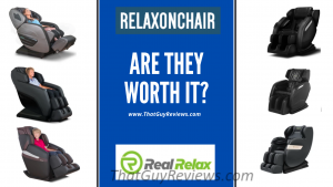 RELAXONCHAIR and REAL RELAX Massage Chair Review