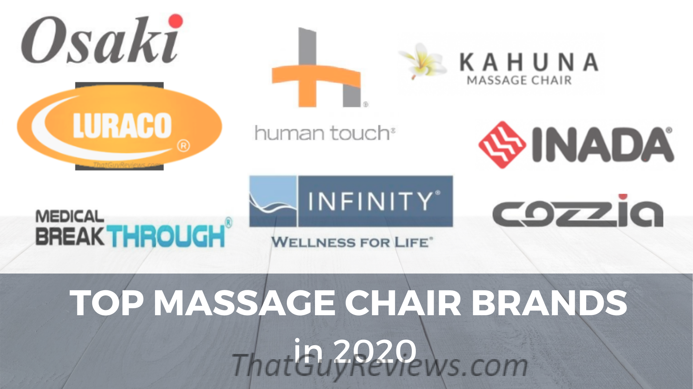 Top Massage Chair Brands in 2021