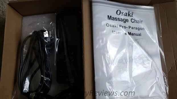 Osaki massage chair remote control.