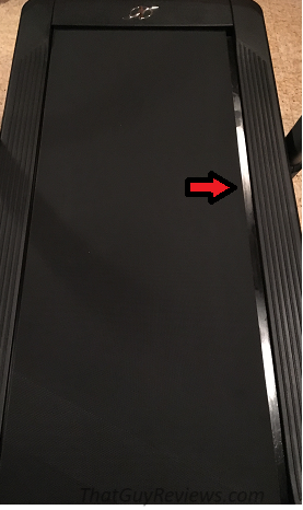 NordicTrack's x11i Incline Trainer Review treadmill_belt