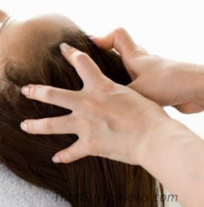 Massaging your scalp is a great home ready for hair growth.